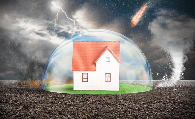 Къща, защитена от бедствия