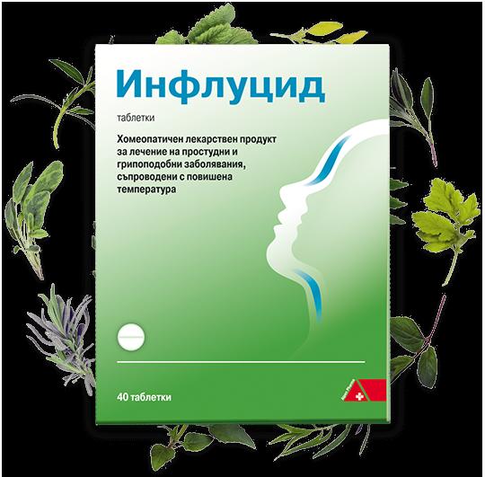 Инфлуцид и билки